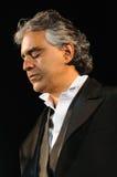 Andrea Bocelli Stock Afbeelding