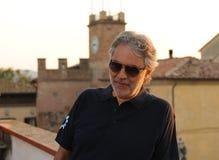 Andrea Bocelli 2013 Stock Afbeelding