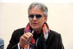 Andrea Bocelli Arkivfoto