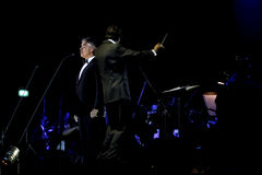 Andrea Bocelli. Andre Bocelli performs in concert at Grand Ballroom The Ritz Carlton Pasific Place on May 15, 2011 in Jakarta, Indonesia Stock Photography