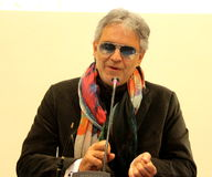 Andrea Bocelli Stock Photos