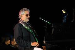 Andrea Bocelli 2013. A portrait of famous tenor Bocelli Andrea Stock Image