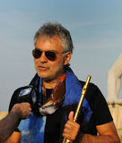 Andrea Bocelli 2013 Royalty Free Stock Photography