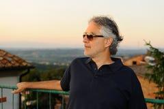 Andrea Bocelli 2013 Stock Photography