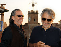 Andrea Bocelli 2013 Royalty Free Stock Images