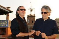 Andrea Bocelli 2013 Royalty Free Stock Photo