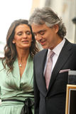 Andrea Bocelli,Veronica Berti,Andrea Will Royalty Free Stock Photography