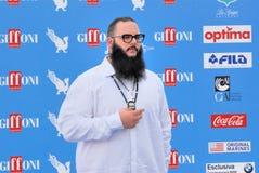 Andrea d ` alessio al Giffoni Ekranowy festiwal 2016 Obrazy Stock