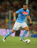 Andrea Dossena of SSC Napoli Royalty Free Stock Images