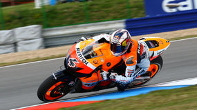 Andrea Dovizioso 4. And Repsol Honda Team in Grand Prix Czech Republic Brno 2009 Stock Photos