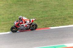 Andrea Dovizioso en el funcionario Ducati MotoGP Fotografía de archivo libre de regalías