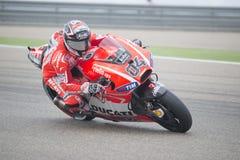 Andrea Dovizioso MotoGp Royaltyfria Bilder