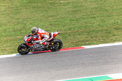 Andrea Dovizioso on Official Ducati MotoGP Royalty Free Stock Photography