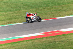 Andrea Dovizioso on Official Ducati MotoGP Royalty Free Stock Images