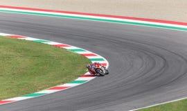 Andrea Dovizioso op Officiële Ducati MotoGP Stock Foto's