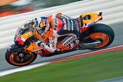 Andrea Dovizioso - Repsol Honda Image libre de droits