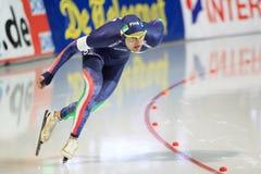 Andrea Giovannini - speed skating Stock Photo