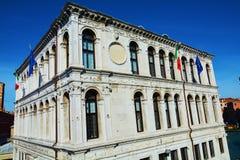Andrea Gritto-paleis in Venetië, Italië, Europa royalty-vrije stock afbeelding