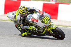 Andrea Iannone赛跑 免版税图库摄影
