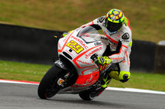Andrea Iannone DUCATI MotoGP GP of Italy 2013 Mugello Circuit Royalty Free Stock Images