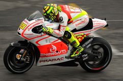 Andrea Iannone DUCATI MotoGP GP of Italy 2013 Mugello Circuit Royalty Free Stock Image
