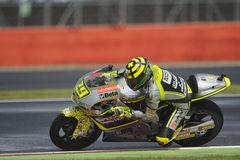 Andrea iannone, moto 2, 2012 Royalty Free Stock Photos