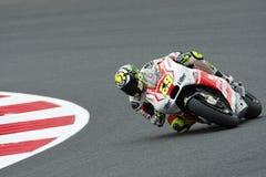 Andrea iannone, moto gp 2014 Royalty Free Stock Image