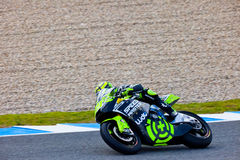 Andrea Iannone pilot of Moto2 in the MotoGP Stock Photos