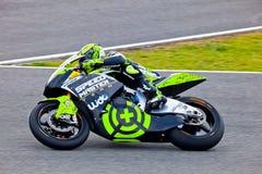 Andrea Iannone proef van Moto2 in MotoGP Stock Fotografie