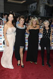 Andrea Mclean, Denise Welch, Lisa Maxwell, Maxwell, Sally Lindsay Stock Image