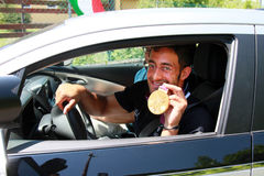 Daniele Molmenti gold Olympic medal comes back hom Stock Photos