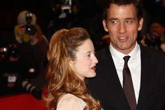 Andrea Riseborough and Clive Owen Royalty Free Stock Photos