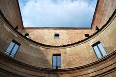 Andrea's mantegna house in Mantua royalty free stock photos