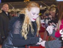 Andrea Sawatzki, Berlinale 2013 Foto de Stock Royalty Free