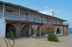 andreas apostolos kloster Arkivbilder