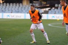 Andreas Christensen speelt met de jeugdteam van het Chelsea F.C. Royalty-vrije Stock Foto