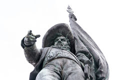 Andreas Hofer statue in Innsbruck Stock Photo