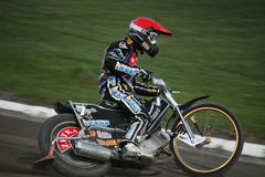 Andreas Jonsson at speedway Grand Prix Stock Image