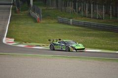 Andreas Segler Ferrari 458 Uitdaging Evo in Monza Stock Fotografie
