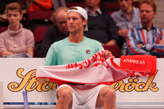 Andreas Seppi (ITA) Royalty Free Stock Photography