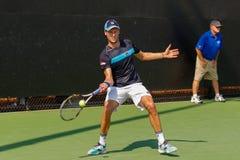 Andreas Seppi-spelen in Winston-Salem Open Royalty-vrije Stock Foto