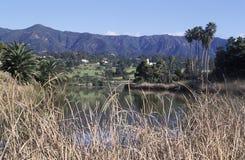 Andree Clark Bird Refuge, Santa Barbara, Californië royalty-vrije stock foto's