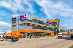 Andreevka, Rússia - 11 de abril 2016 Complexo Energia da compra e do entretenimento Fotografia de Stock Royalty Free