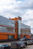 Andreevka, Russland - 11. April 2016 Einkaufs- und Unterhaltungskomplex Energia Stockfotografie