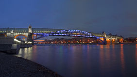 andreevsky мост старый Стоковое Изображение