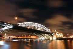 Andreevsky Brücke Stockfotografie