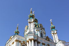 Andreevsky church 3 Royalty Free Stock Images
