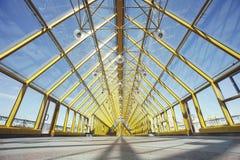 Andreevsky Pushkin bridge inside. Moscow Stock Image