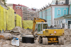 Andreevsky Sinkflug in Kyiv, Ukraine. Stockfotografie