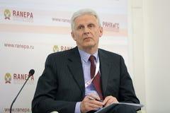Andrei Fursenko Stock Foto